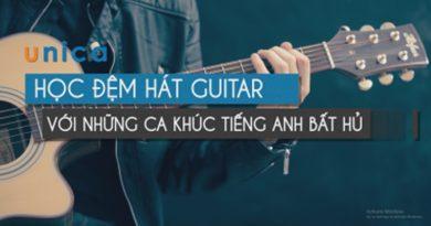 Học đệm hát Guitar bài hát tiếng Anh