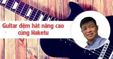 Guitar đệm hát nâng cao