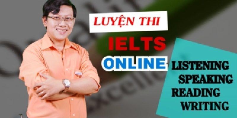 Luyện thi IELTS online: listening, speaking, reading, writing
