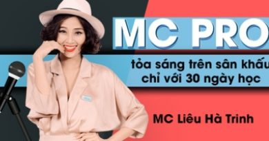 MC Pro – Toả sáng trên sân khấu chỉ với 30 ngày học