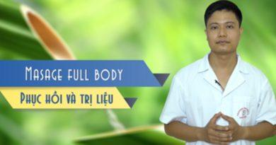 Massage toàn thân - Phục hồi và Trị liệu