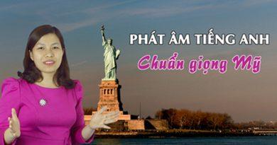 Phát âm tiếng Anh chuẩn giọng Mỹ