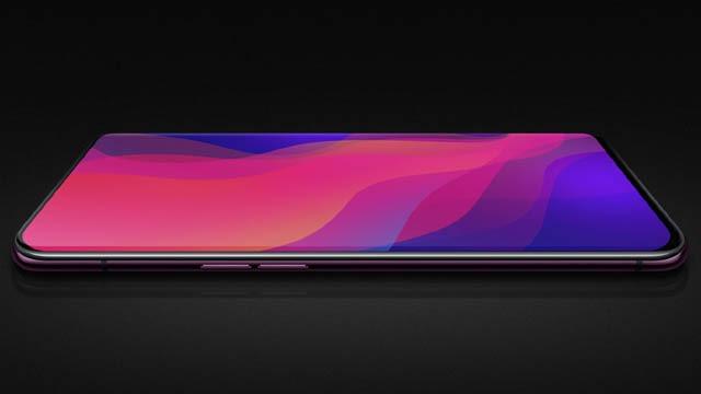 Điện thoại Find X với màn hình cong tràn siêu cực của Oppo