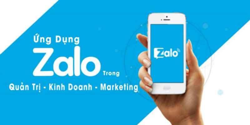 Ứng dụng Zalo trong Quản trị, Kinh doanh, Marketing