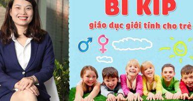 Bí kíp giáo dục giới tính cho trẻ
