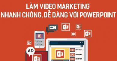 Làm video marketing nhanh chóng, dễ dàng với Powerpoint