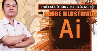 Thiết kế đồ hoạ 2D với Adobe Illustrator